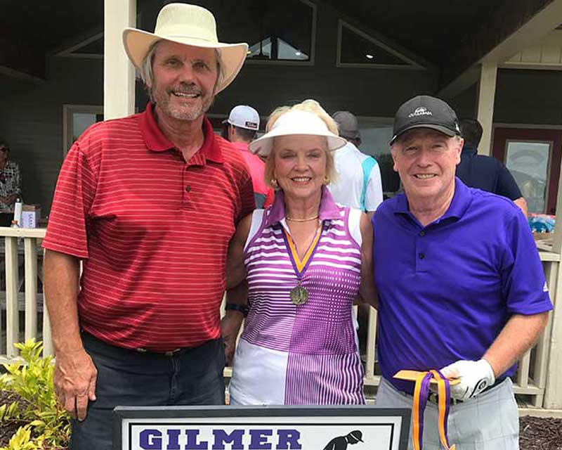 Photo of Low Net Winners - Gary Powers, Carolyn Bruce, Ed Bruce, Not pictured Chris Rusch