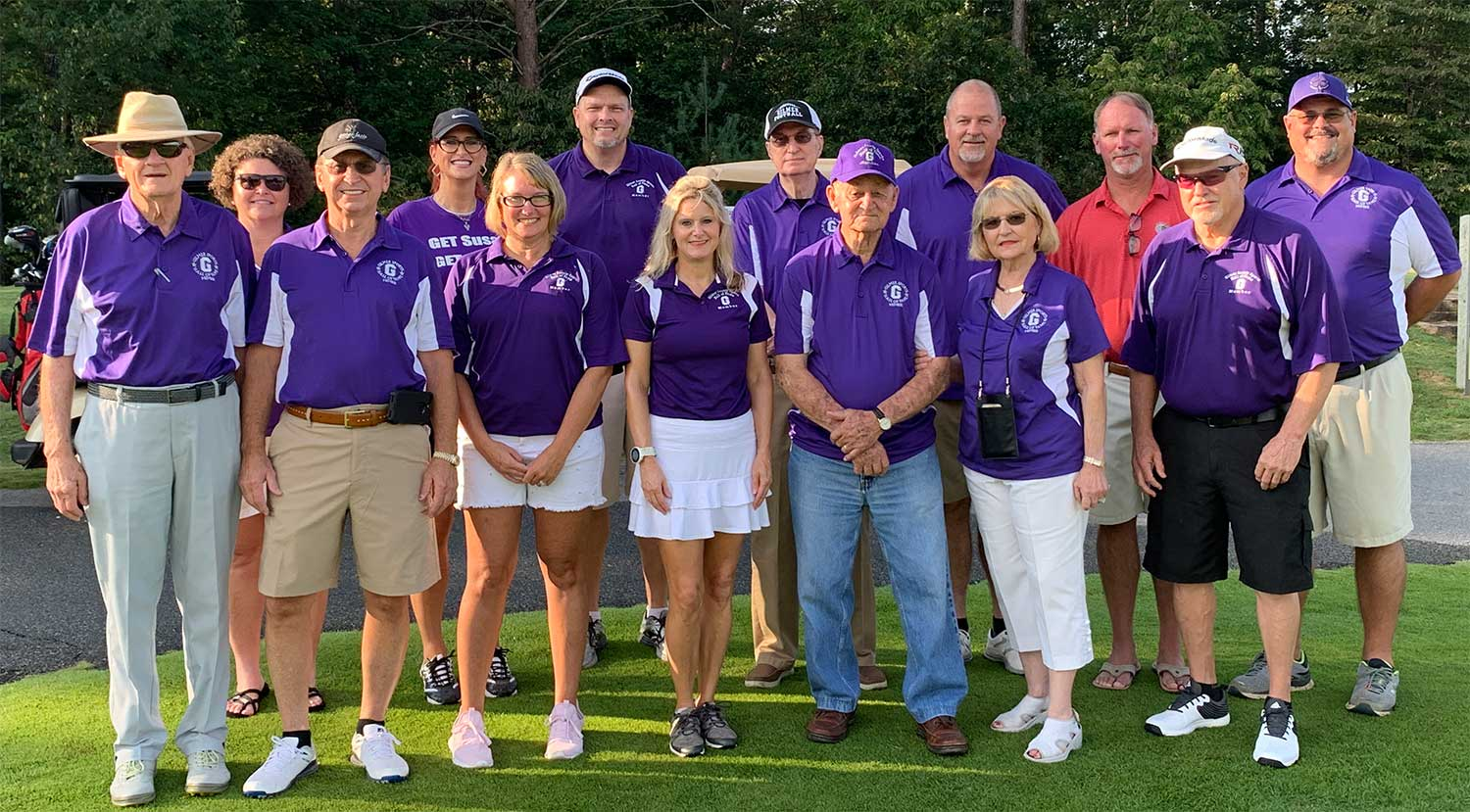 Photo of 2019 Gilmer County Sports Hall of Fame Golf Tournament Winners